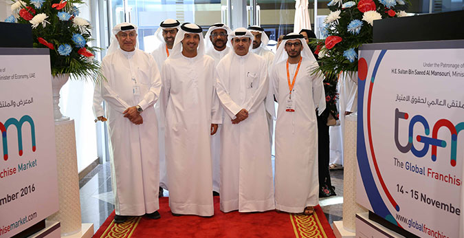 Al Qamzi Inaugurates the 1st Edition of The Global Franchise Market
